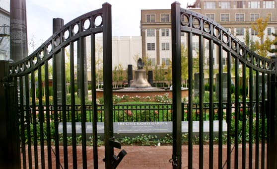 Civil Rights Garden in Atlantic City