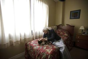 Senior living centers now accepting more pets