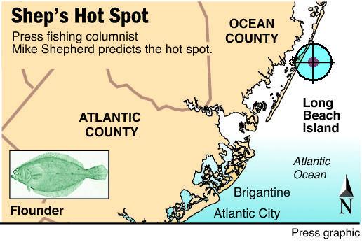 hot spot flounder LBI