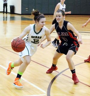 St. Joe at Cedar Creek girls basketball