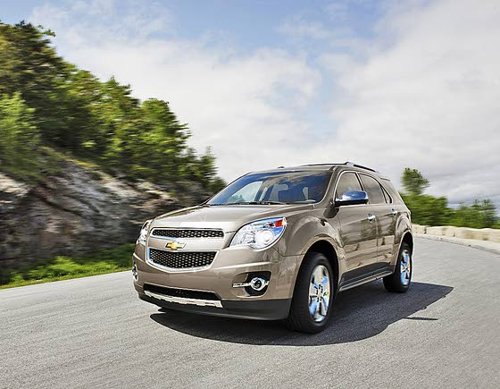 Chevy's Popular Equinox Crossover Gets New V-6