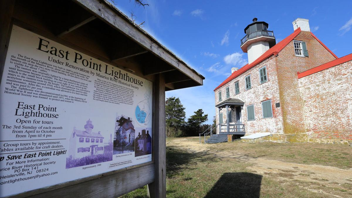 East Point Lighthouse through the years
