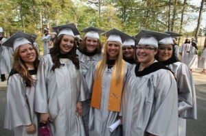 CCC GRADUATION: Cumberland County College in Vineland held its 46th commencement ceremony on Thursday.  - Edward Lea