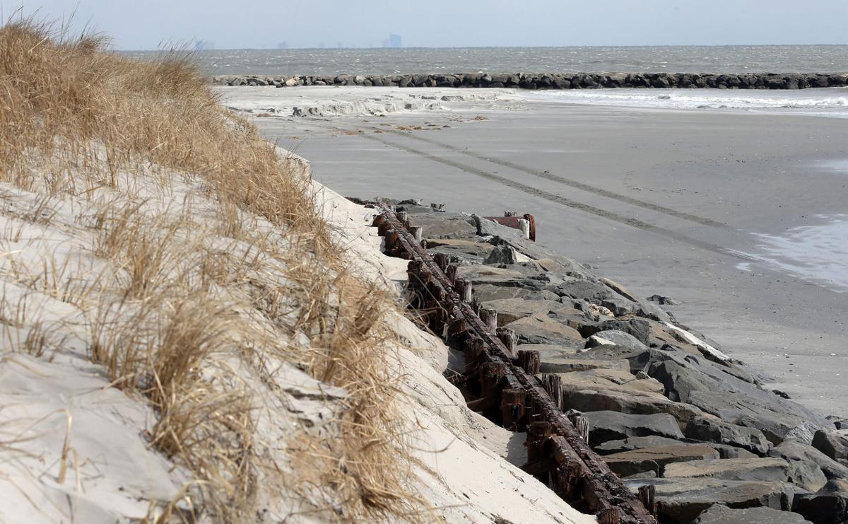 Winter Storm Beach Erosion