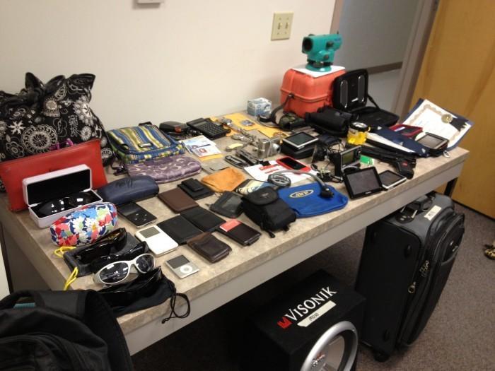 Stolen items