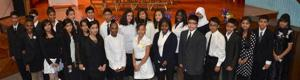 King School celebrates its newest Honor Society members