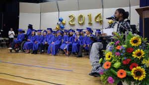 Atlantic Special Services Graduation: Atlantic County High School commencement ceremony in Mays Landing. - Michael Ein