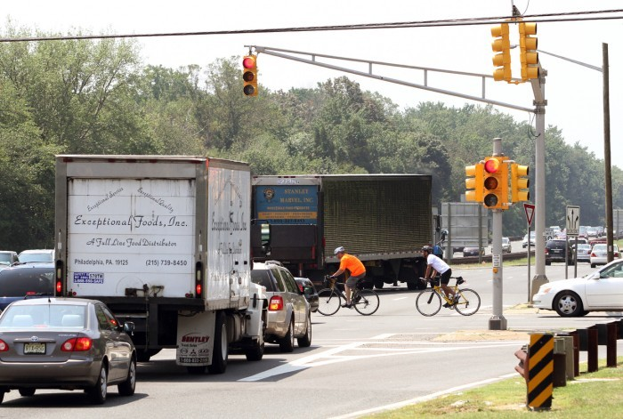 Removal of three parkway traffic lights in cape may county Traffic on the garden state parkway