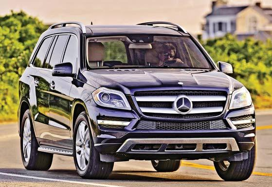 Full-size Benz GL-Class Likes Luxury, Getting Dirty