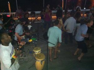Baia Brings The Party To The Bay In Somers Point: Baia Restaurant offers live music every day of the week, including a popular reggae night on Sundays.