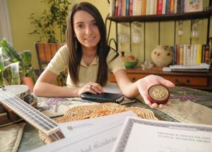 Mays Landing teen earns scholarships but plans to work harder to gain more