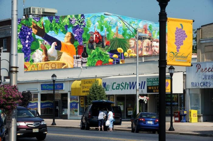 Millville to commission downtown mural press of atlantic for 6 blocks from downtown mural