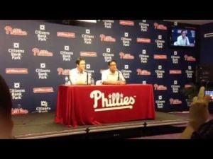 Ruben Amaro talks about Chase Utley