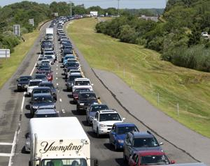 12 Mile Garden State Parkway Traffic Delay Heading North