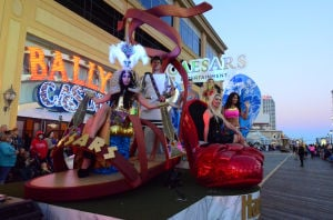 Miss America Parade: Caesars Entertainment float - Photo by Vernon Ogrodnek