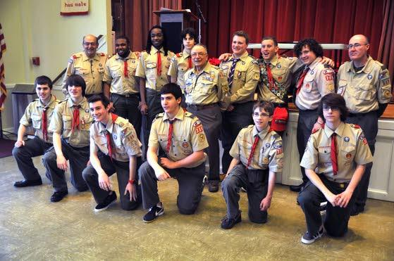 Egg Harbor Township Scout Troop 389 produced rare number of Eagles - 7