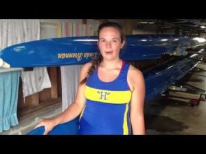 Holy Spirit's Lauren Turner talks about the varsity eight's season