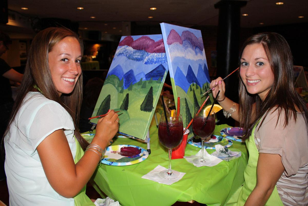 5 places for paint and wine night at the shore