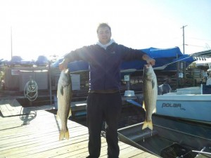 Love of fishing outweighs effects  of Sandy for Brigantine resident