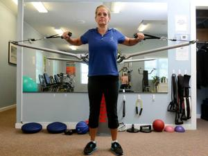 Your Workout: Standing Chest Press