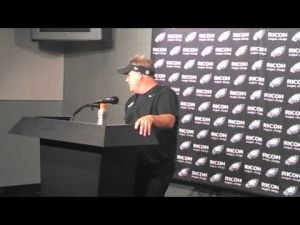 Chip Kelly postgame interview after Carolina preseason game