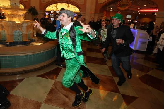 Celtic music, soul songs and the running of the leprechauns highlight events At The Shore Today