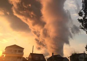 What was that ominous-looking cloud over South Jersey?