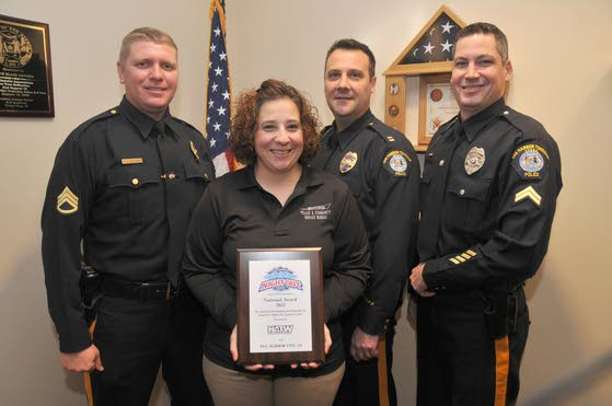 Egg Harbor Township P.D. earns  award for community involvement