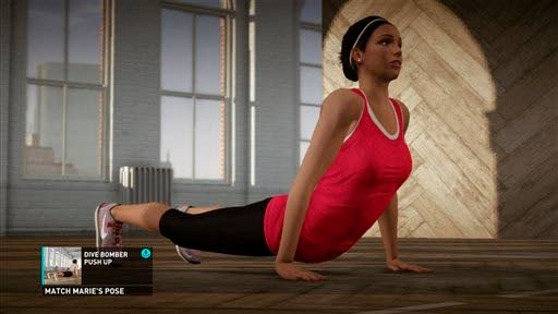 'Nike+ Kinect,' 'Your Shape' sweat it out