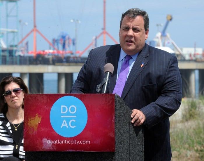 Christie in Atlantic City