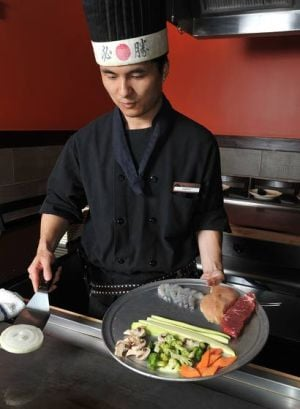 More Than Just TokyoAsian eatery combines sushi, hibachi, Chinese and more