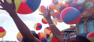 Lightshow, beach balls kick off A.C. summer