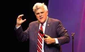 Jay Leno brings a dose of edgy -  and some old jokes - to Borgata