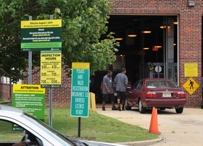 Motor vehicle inspection station nj for Motor vehicle inspection station