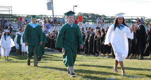 Mainland Reg Graduation: Tuesday June 24 2014 Mainland Regional Graduation. (The Press of Atlantic City / Ben Fogletto) - Ben Fogletto