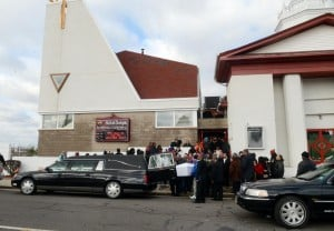 Mack Funeral: Funeral services were held Thursday at Shiloh Temple Apostolic Church in Atlantic City for Derreck Mack, 18, who was fatally shot by police Dec. 17 in Atlantic City.  - Danny Drake