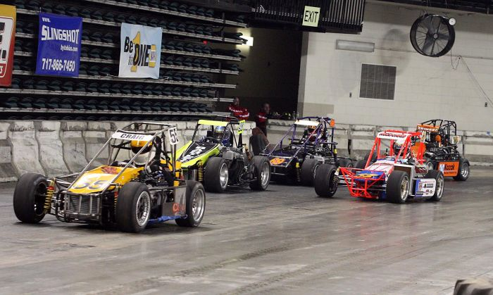 A.C. Indoor Races practice