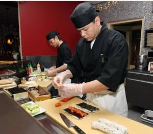 Tomatoes is locals hot spot for sushi, music