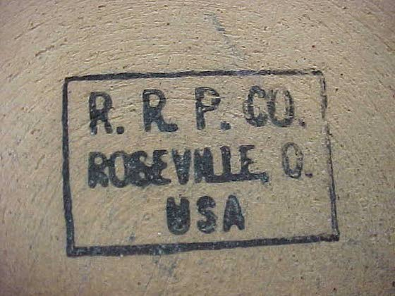Crock made by company in Roseville, Ohio, is not the highly collectible Roseville pottery