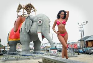 Eagles cheerleaders do calendar shoot in southern New Jersey to raise funds for Hurricane Sandy relief efforts