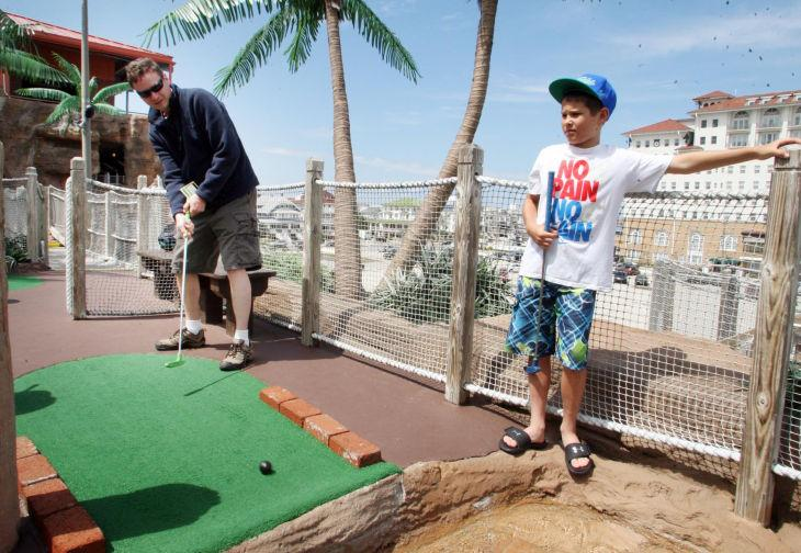 MEMBER EXCHANGE Rise of Mini-Golf