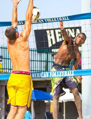 Absecon resident only local to hit sand at Atlantic City AVP beach volleyball tournament