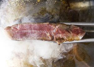 Great grilling with three tricks to assure tender and tasty beef