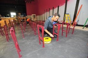 Dark theater will soon light up Landis Avenue