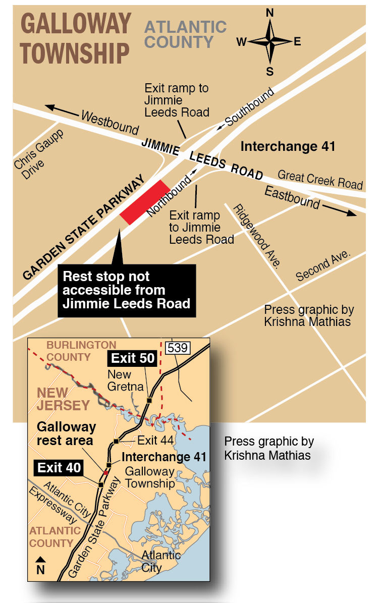 New Garden State Parkway Exits In Galloway Take Effect Galloway