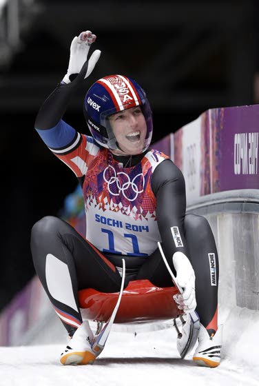 Erin Hamlin stalking U.S. history in luge today