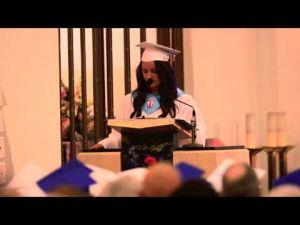 Sacred Heart Valedictorian Katherine O'Rourke