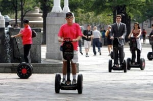Hop aboard a Segway and see sights of cities