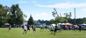 High school players get taste of coming season