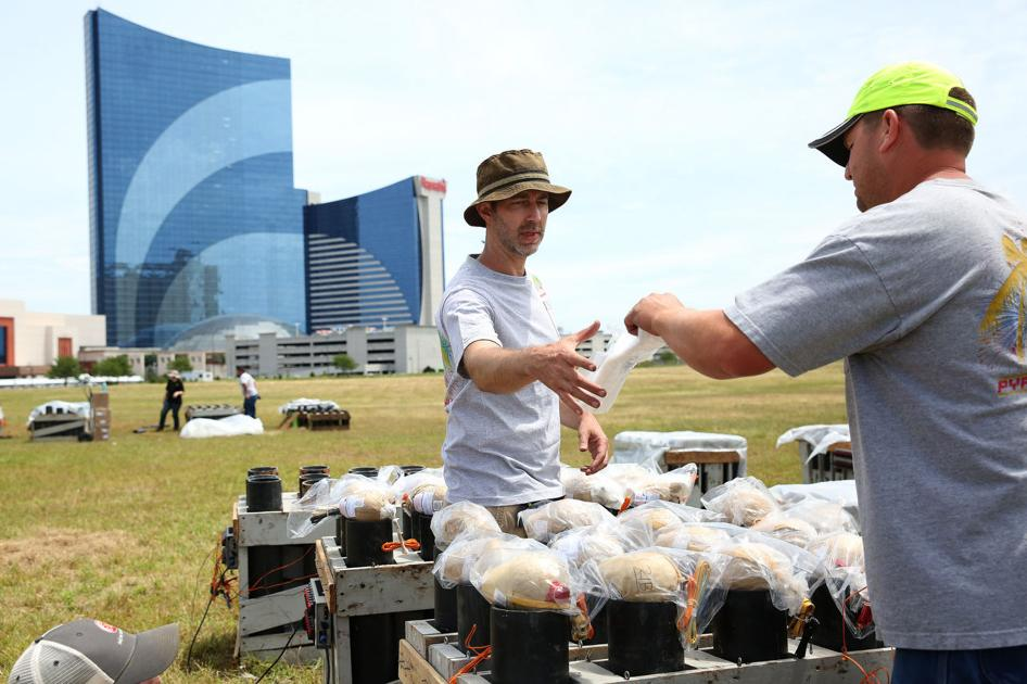 A.C. fireworks show will go on, even if it rains, organizers say